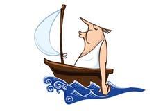 Marin illustration libre de droits