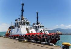 Marin- bogserbåt Arkivbilder