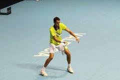 Marin Cilic av kroaten i Valencia öppen tennis Spanien Arkivfoton