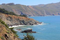 Marin County Stock Photo