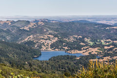 Marin County Lakes Royalty Free Stock Photography