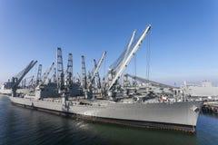 Marin Crane Ship Arkivbilder