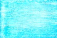 Marin- eller marinblå bakgrund för vattenfärglutningpåfyllning Akvarellfläckar Abstrakt begrepp målad mall med pappers- textur royaltyfri illustrationer