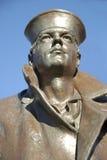 Marin en bronze Images libres de droits