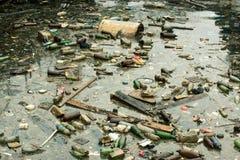 marin- förorening Royaltyfri Bild