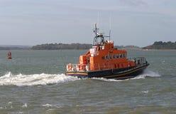 marin- havräddningsaktion för lifeboat arkivbilder