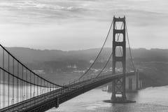 Marin Headland en niebla Imágenes de archivo libres de regalías