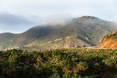 Marin Headland im Nebel Lizenzfreie Stockfotografie