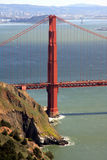 Marin Headlands. The golden gate and bay from the Marin Headlands San Francisco Stock Photos