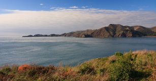 Marin Headlands. Seen from San Francisco side Stock Photography