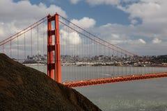Marin Headlands, Golden Gate Bridge, and San Francisco Royalty Free Stock Images