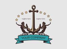 Marin Logo Photographie stock libre de droits