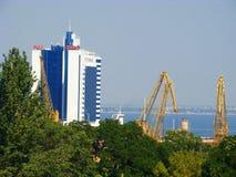 marin- odessa port Royaltyfri Fotografi