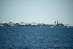 Marin Pier Chicago Arkivfoton