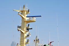 Marin- radar Royaltyfria Bilder
