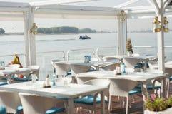 Marin- restaurang Royaltyfri Foto