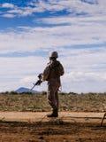 Marin- soldat II Arkivfoto