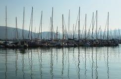 Marina's-Morgen Stockfoto