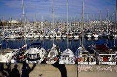 Marina à Barcelone Image stock