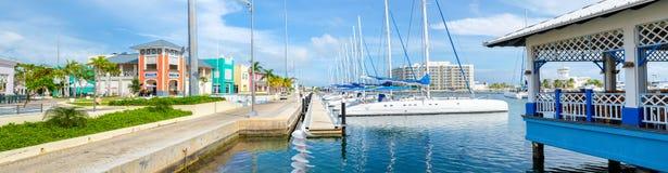 Marina à la plage de Varadero au Cuba Photographie stock