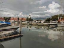 Marina à phuket Photographie stock libre de droits