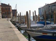 Marina à Venise Photographie stock libre de droits