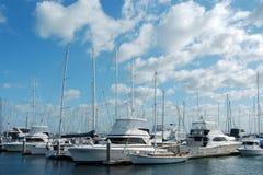 Marina 01 de bateau Photos stock