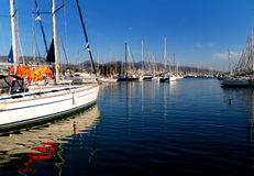 Marina_2. Edem, Palaio Faliro, Greece, the marina royalty free stock image