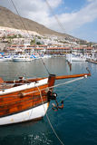 At the marina. Of Los Gigantes, Spain Royalty Free Stock Images