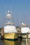 Marina. Yachts in a marina on the New Jersey shore Royalty Free Stock Images