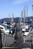 A Marina-3. A nice place to visit on a sunny weekend in Astoria Oregon Royalty Free Stock Photography