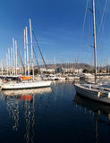 Marina_3. Palaio Faliro, Edem, Greece, the marina royalty free stock photography