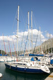 Marina. The Marina of ACI - Dubrownik. Croatia Royalty Free Stock Photography