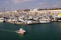 The marina. In brighton. south england Royalty Free Stock Image