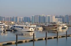 Marina in Abu Dhabi Royalty Free Stock Image