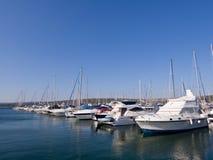 Marina in Adriatic sea Stock Photography