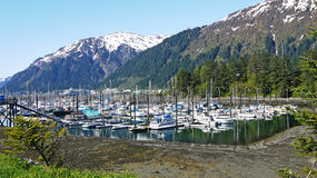Marina in Alaska Stock Image