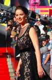 Marina Aleksandrova at Moscow Film Festival Royalty Free Stock Image