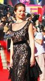 Marina Aleksandrova at Moscow Film Festival Stock Image