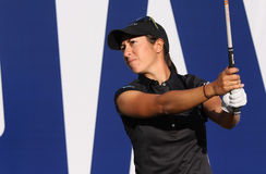 Marina Alex at the ANA inspiration golf tournament 2015 Stock Photo