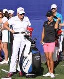 Marina Alex at the ANA inspiration golf tournament 2015 Royalty Free Stock Images