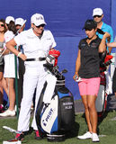 Marina Alex au tournoi 2015 de golf d'inspiration d'ANA images libres de droits