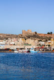 Marina in Almeria Royalty Free Stock Photos