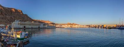 Marina in Almeria Stock Images