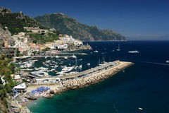 Marina at Amalfi, Italy Royalty Free Stock Image