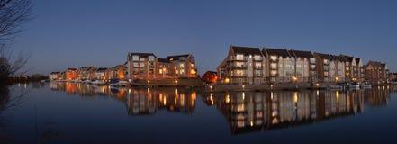 Marina Apartments and Houses Eynesbury royalty free stock photo