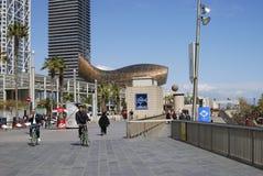 Marina area at Barcelona. Spain Stock Image