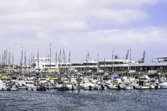 Marina in Arrecife Royalty Free Stock Photography