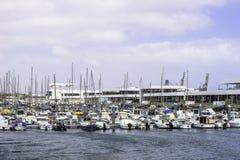 Marina in Arrecife Royalty Free Stock Photography