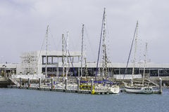 Marina in Arrecife Stock Images